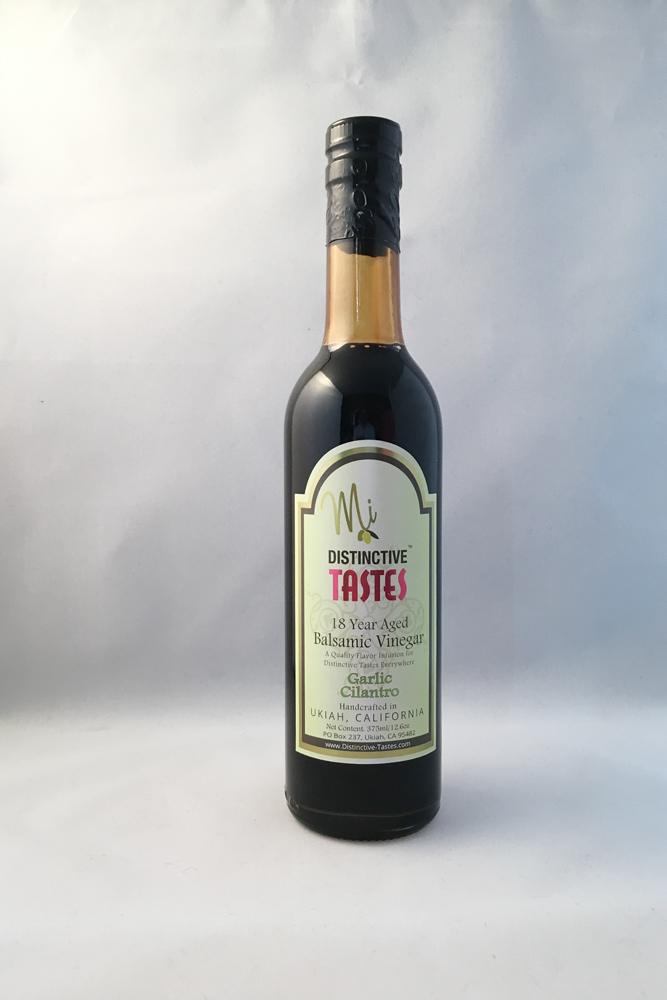 Garlic Cilantro Balsamic Vinegar